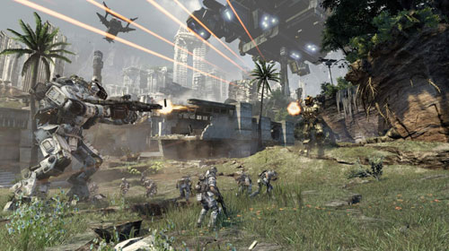 Titanfall to Thunder Into Game Stores Monday Night