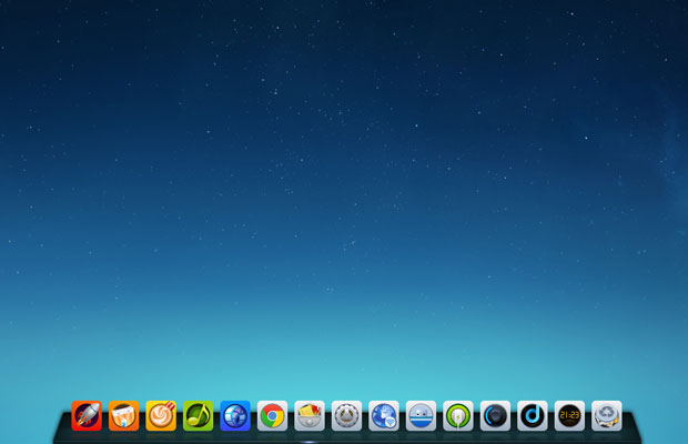 Deepin Linux home screen