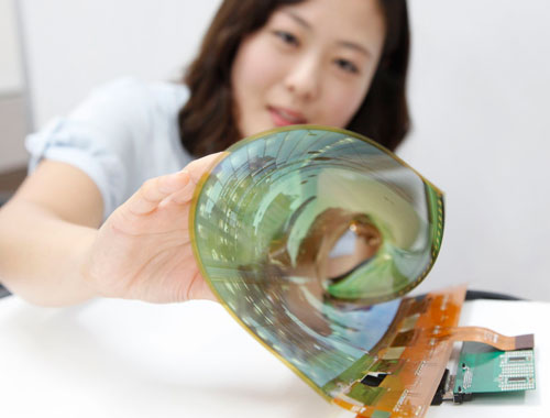LG Flexible Rollable OLED