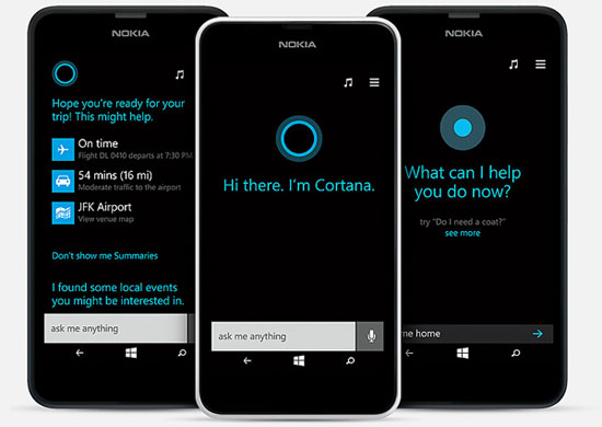 Nokia Lumia 635 Cortana
