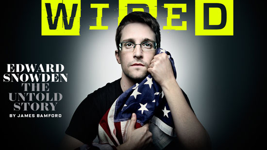 Edward Snowden Wired NSA