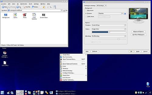 Q4OSTrinity Desktop