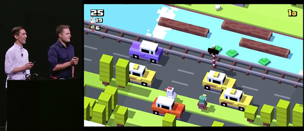 Crossy Road multi-player Apple TV