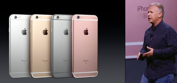 Phil Schiller iPhone 6S introduction