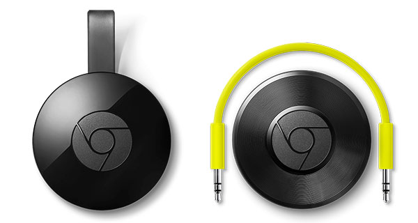 chromecast and chrome cast audio