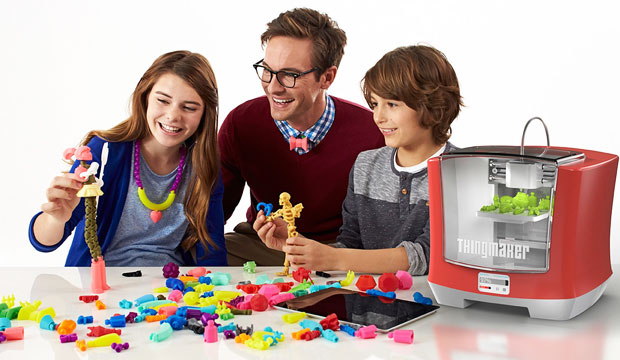 Mattel ThingMaker 3D Printer and ThingMaker Design App Eco-System