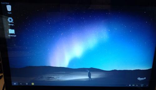 Remix OS Beta 2.0 desktop