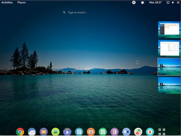 Apricity OS GNOME desktop