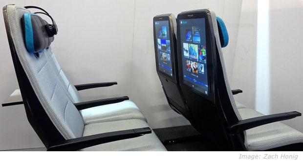 digital sky in-flight entertainment display