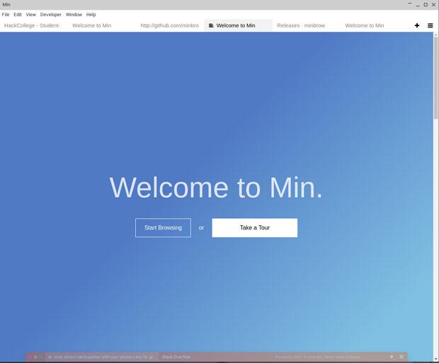 Min browser