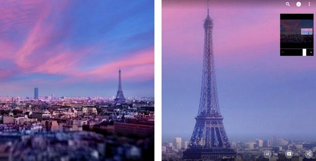 Google+ Paris photo