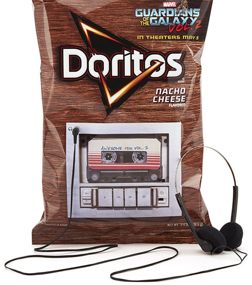 doritos mp3 player guardians galaxy