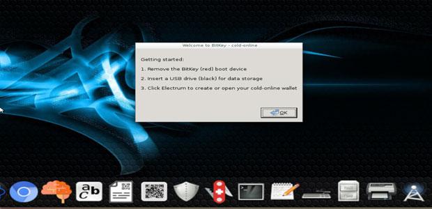 BitKey desktop