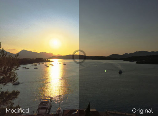 Weakly Supervised Photo Enhancer for iPhone 6 Camera