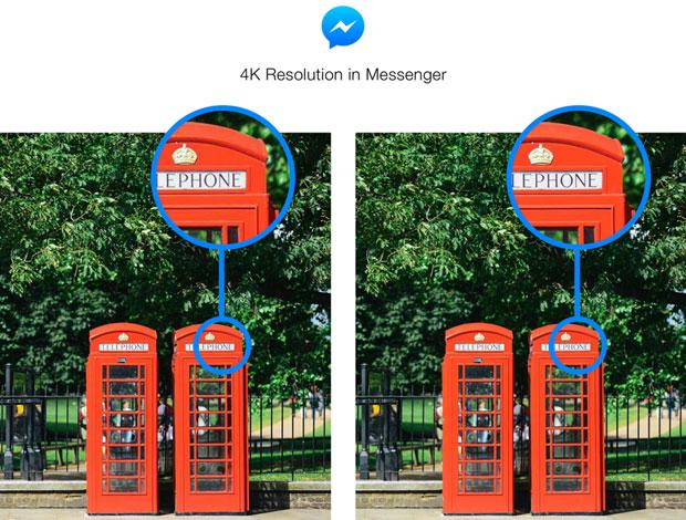 4K Resolution in Messenger London Park