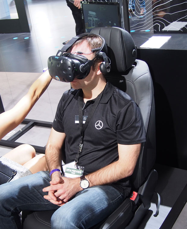 NAIAS VR presentation by Mercedes