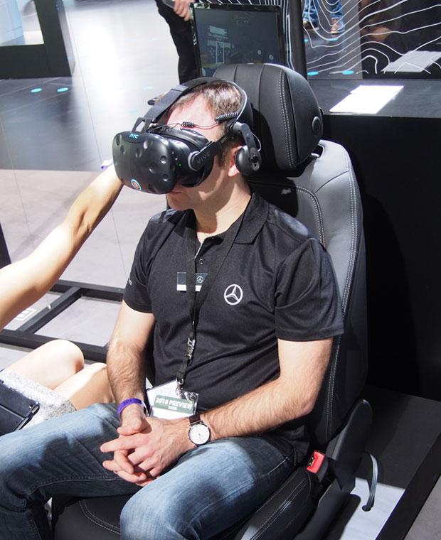 NAIAS VR presentation by Mercedes