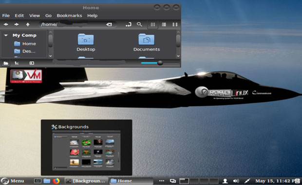 RoboLinux Rapture 9.2.1. Cinnamon desktop