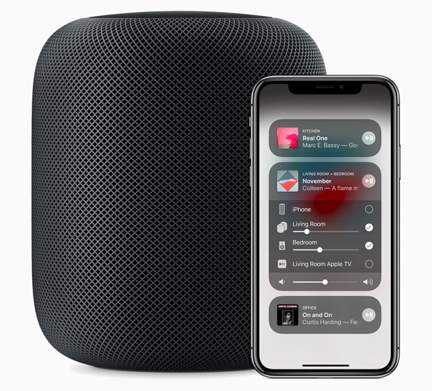 'iOS 11.4 HomePod