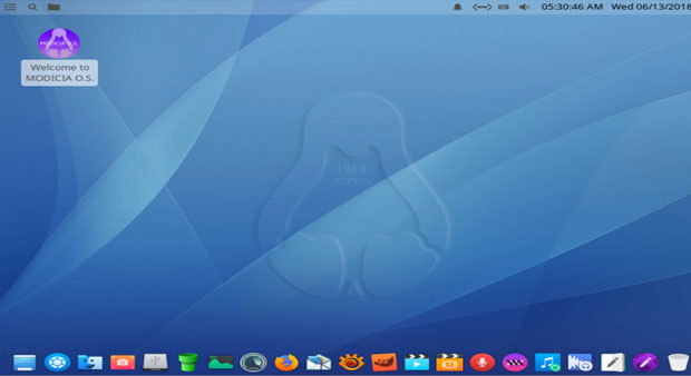 Modicia O.S. desktop