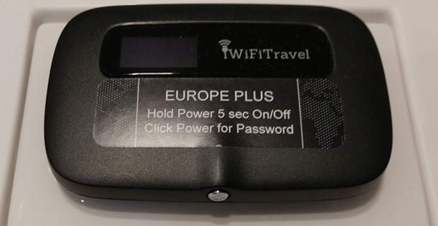 iWiFiTravel Mobile WiFi Hotspot