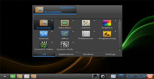 Bodhi Linux 5.0.0 Quick Launcher App