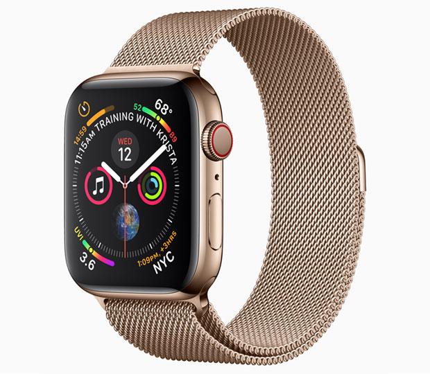 Серията Apple Watch 4