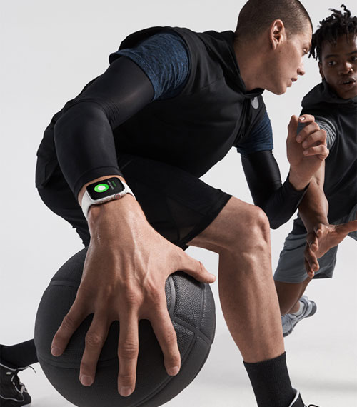 Apple Watch Series 4 basketball lifestyle