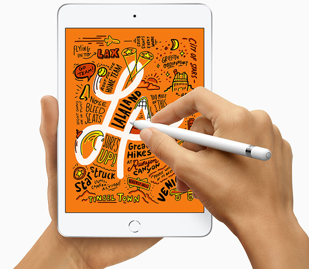 iPad Mini supports Apple Pencil