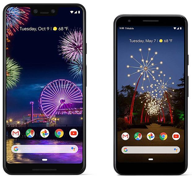GooglePixel 3a XL and Pixel 3a smartphones
