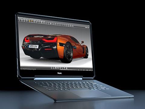 Nvidia's Ace Concept Laptop Design