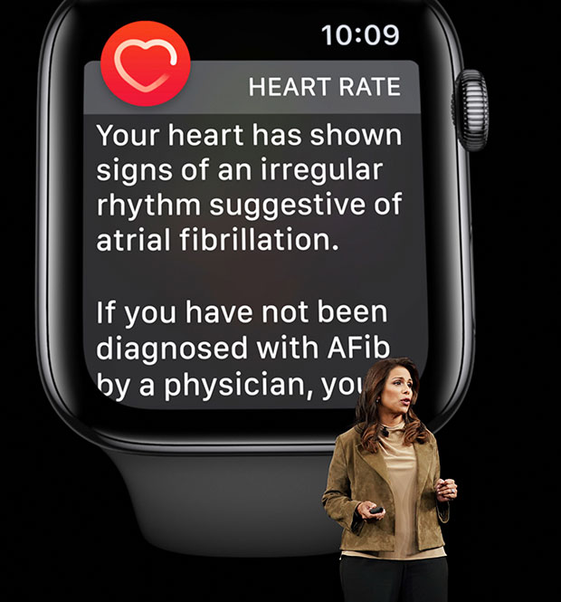 Apple Keynote Sumbul Desai health studies