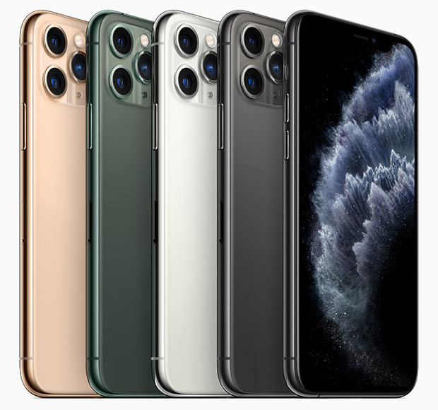 iPhone 11 Pro and iPhone 11 Pro Max colors