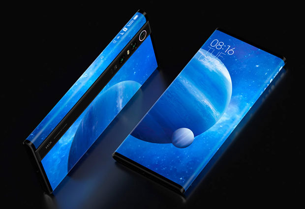 xiaomi mi mix alpha surround screen has screen-to-body ratio of more than 180.6 percent