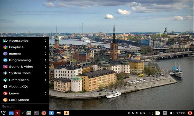 Extix Linux 19.10 menu