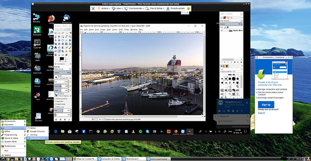 Linux for All screenshot