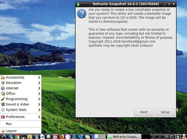 Linux for All LXLE desktop