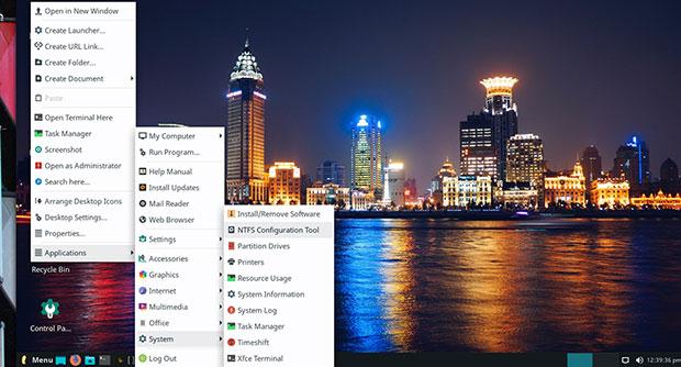 Linux Lite 4.6 needs no set-up and runs the Xfce desktop integration.