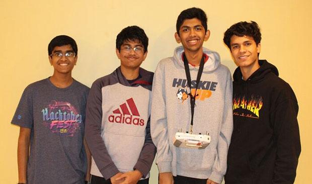 High school student innovators Team EcoAero