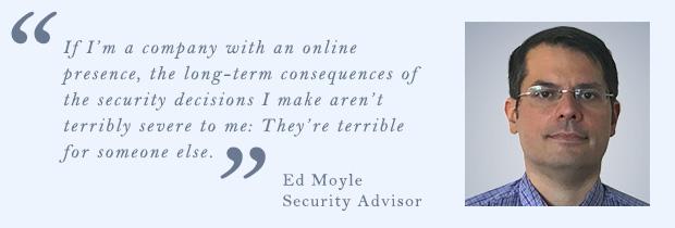 Ed Moyle, Security Advisor