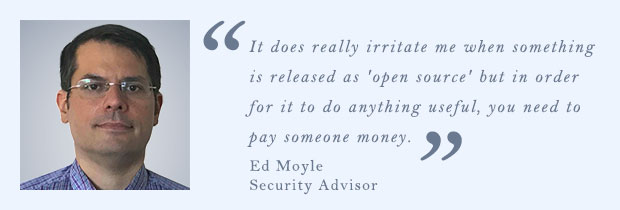Ed Moyle, asesor de seguridad