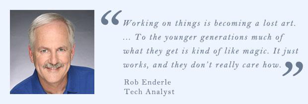Rob Enderle, analista tecnológico