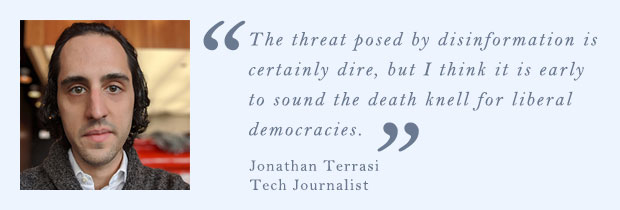 Jonathan Terrasi, Tech Journalist
