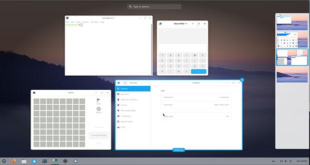 Zorin desktop