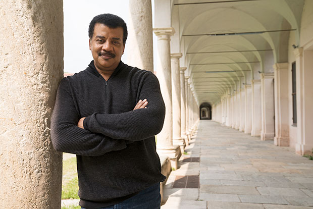 Cosmos Possible Worlds: Neil deGrasse Tyson Portrait
