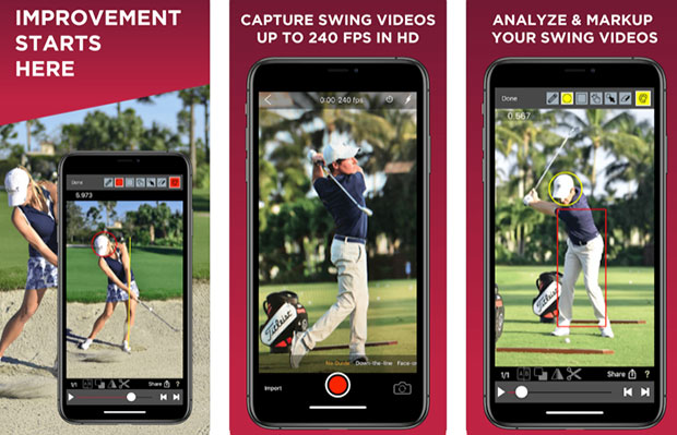 V1 Golf Swing Analysis & Coaching app