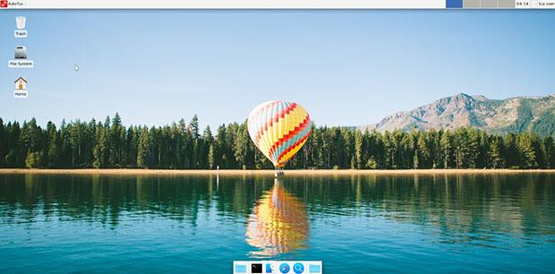 AutoTux Xfce desktop
