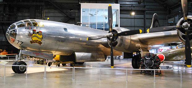 B-29 bomber Bockscar