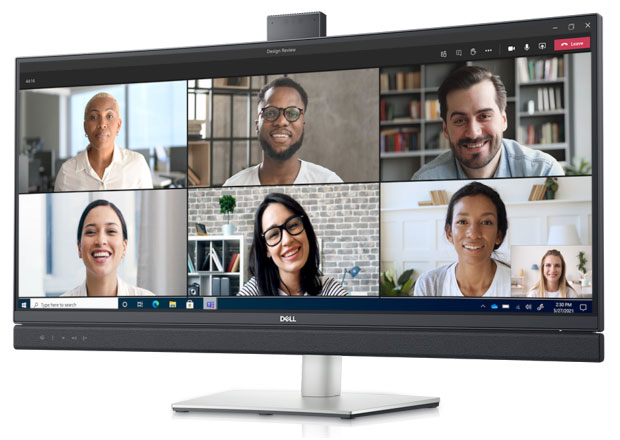 Dell 34 Curved Video Conferencing Monitor