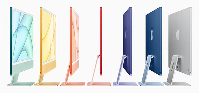 Spring 2021 iMac thin profile